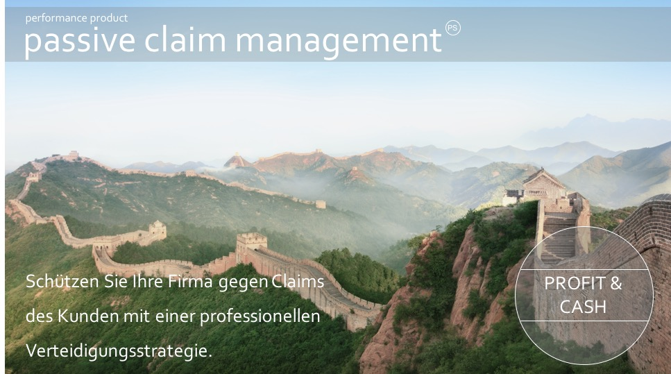 Passive claim management